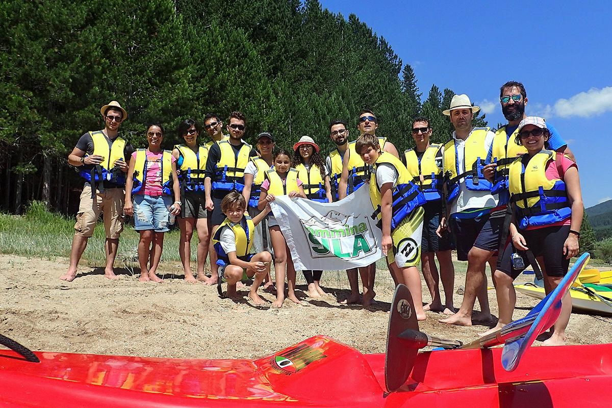 Divertirsi in Canoa/kayak in Sila